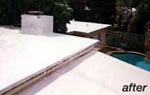 Paint Waterproof Flat Roof, Flat Roof Repair and Coating, Stop Leaking