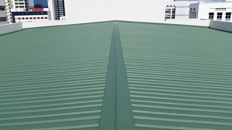 Commercial Metal Roof Waterproofing