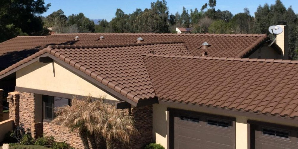 Residential Cement Tile Roof Coating