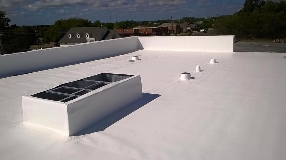 Residential Flat Roof Coating