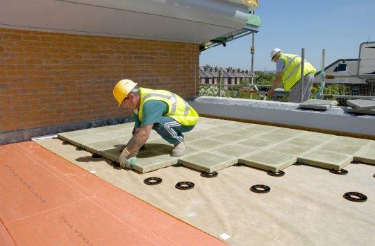 Residential Flat Roof Repair and Maintenance