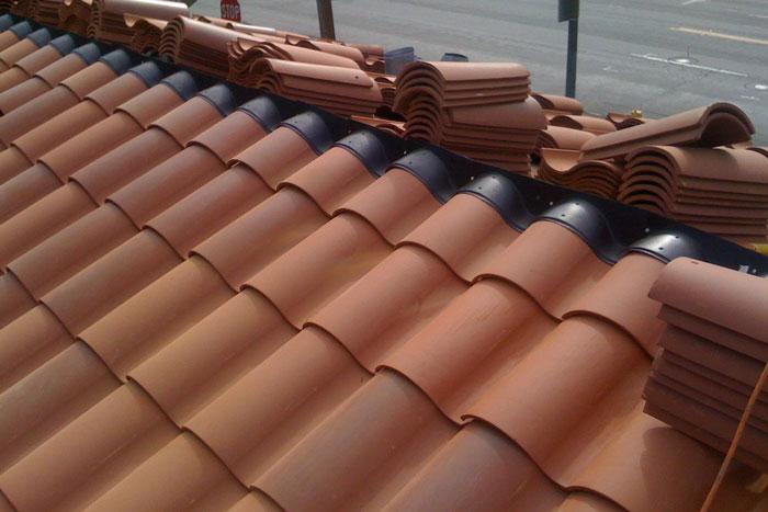 Spanish Tile Roof Waterproofing